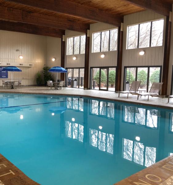 an indoor swimming pool in eagan minnesota
